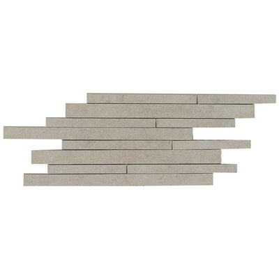 "Daltile City View 9"" x 18"" Random Linear Brick Joint Tile in Skyline Gray"