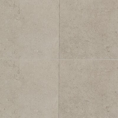 """Daltile City View 24"""" x 2"""" Linear Tile in Skyline Gray"""