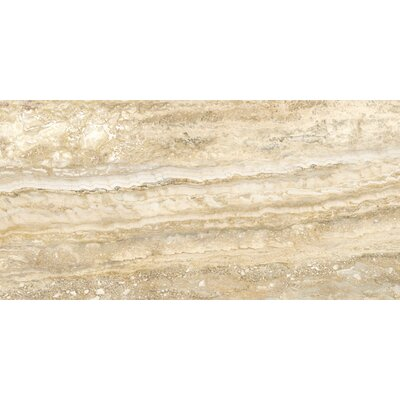 "Daltile San Michele 12"" x 24"" Cross - Cut Field Tile in Dorato"