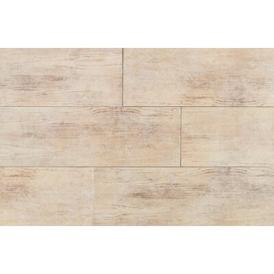 "Daltile Timber Glen 4"" x 24"" Rustic Field Tile in Dune"