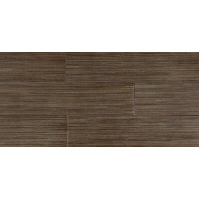 "Daltile Timber Glen 12"" x 24"" Contemporary Field Tile in Cocoa"