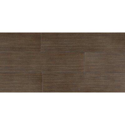 "Daltile Timber Glen 6"" x 24"" Contemporary Field Tile in Cocoa"