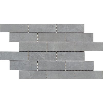 "Daltile Concrete Connection 13"" x 19.5"" Interlocking Border Tile in Steel Structure"