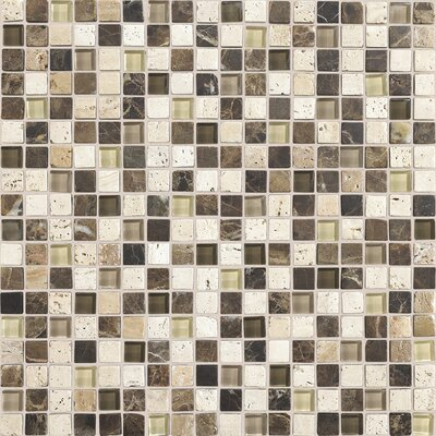 Stone radiance 12 x 12 mosaic tile blend in morning sun 2f