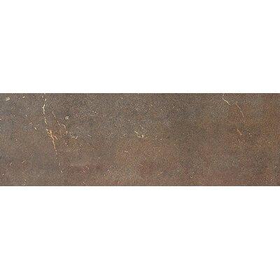"""Daltile Metal Fusion 8"""" x 24"""" Field Tile in Bronzed Copper"""