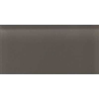 Daltile Glass Reflections 3&quot; x 6&quot; Glossy Wall Tile in Kinetic Khaki