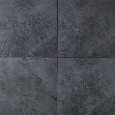 "Daltile Continental Slate 12"" x 12"" Field Tile in Asian Black"