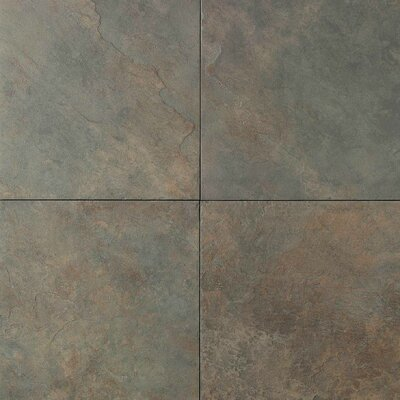 "Daltile Continental Slate 18"" x 18"" Field Tile in Brazilian Green"