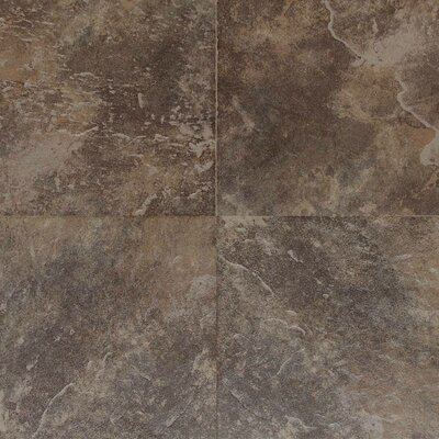 "Daltile Continental Slate 6"" x 6"" Field Tile in Moroccan Brown"