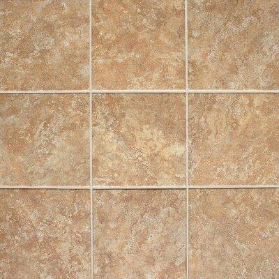 """Daltile Del Monoco 6-1/2"""" x 6-1/2"""" Glazed Field Tile in Adriana Rosso"""