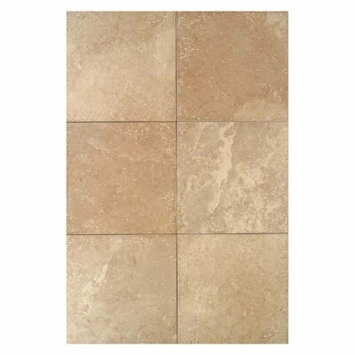 "Daltile Pietre Vecchie 13"" x 13"" Field Tile in Golden Sienna"