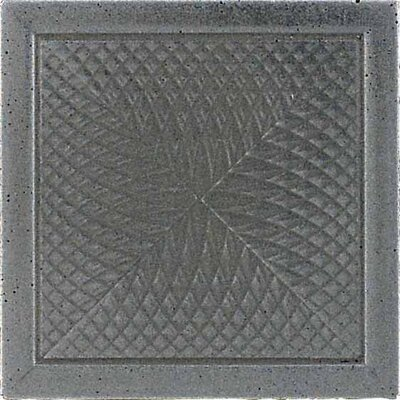 "Daltile Urban Metals 2"" x 2"" Spiral Decorative Dot in Stainless"