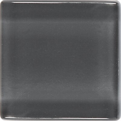 "Daltile Isis 12"" x 12"" Glass Mosaic Tile in Smoke Gray"