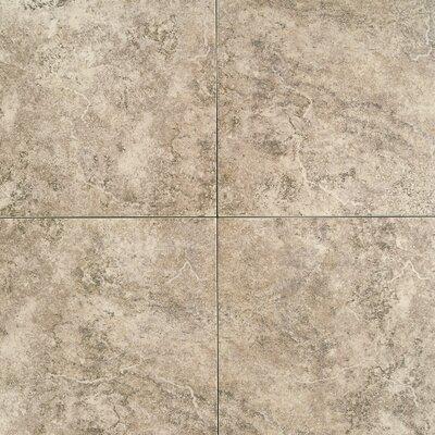 "Daltile Travata 13"" x 13"" Plain Glazed Porcelain Tile in Toasted Almond"