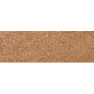 "Daltile Cliff Pointe 6"" x 18"" Porcelain Field Tile in Redwood"
