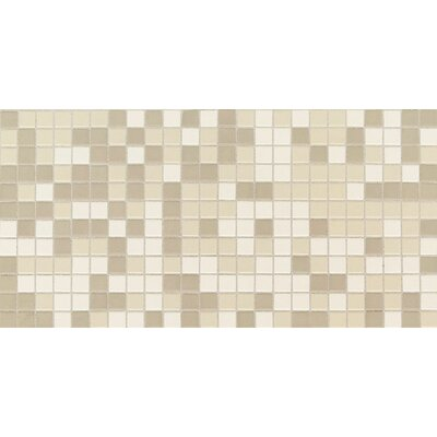 "Daltile Keystones Blends 1"" x 1"" Plain Porcelain Mosaic Tile in Beach"