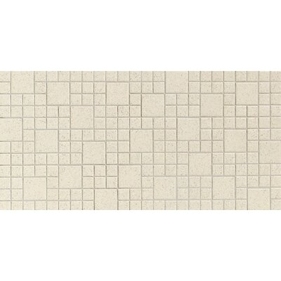 "Daltile Keystones Blends 12"" x 24"" Plain Porcelain Mosaic Tile in Marble"