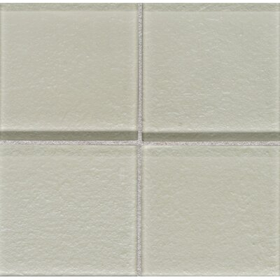 "Daltile Molten Glass 4 1/4"" x 4 1/4"" Wall Tile in Suede"