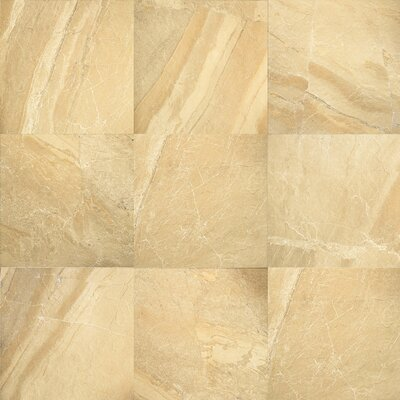 "Daltile Ayers Rock 20"" x 20"" Unpolished Field Tile in Golden Ground"