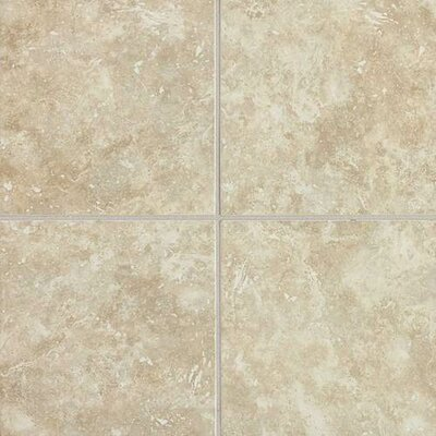 "Daltile Heathland 18"" x 18"" Unpolished Floor Tile in White Rock"
