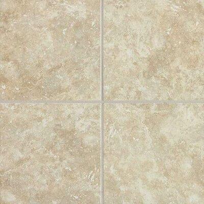 "Daltile Heathland 18"" x 18"" Unpolished Floor Tile in White Rock"