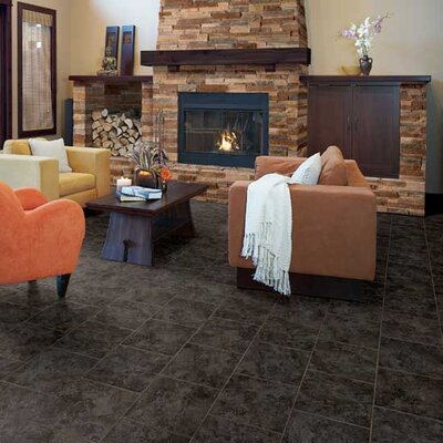 "Daltile Heathland 18"" x 18"" Unpolished Floor Tile in Ashland"