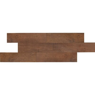 Daltile Terrace 6&quot; x 36&quot; Unpolished Field Tile in Cherry