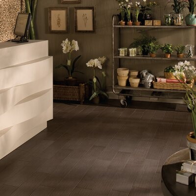 "Daltile Timber Glen 6"" x 24"" Contemporary Field Tile in Cocoa"