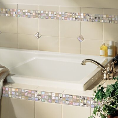 "Daltile Polaris 8"" x 6"" Glazed Field Tile in Gloss Almond"