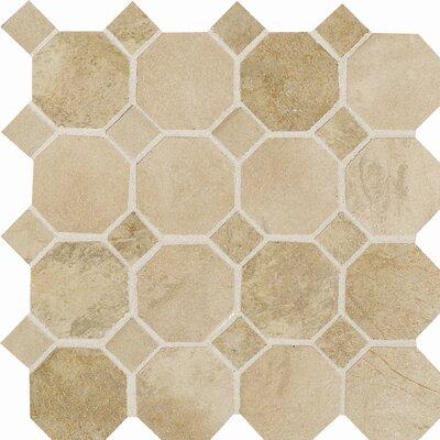 Aspen Lodge Mosaic Field Tile in Morning Breeze