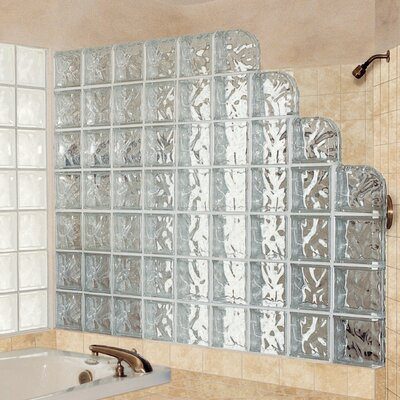 "Daltile Glass Block 8"" x 8"" Decora Block"