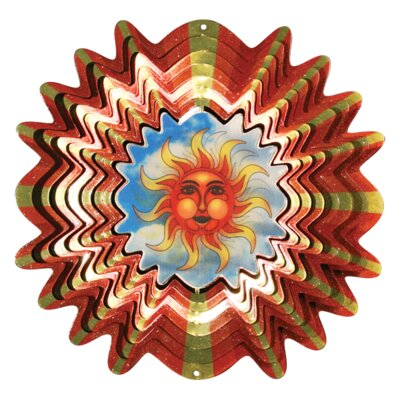 Designer Animated Sun Wind Spinner