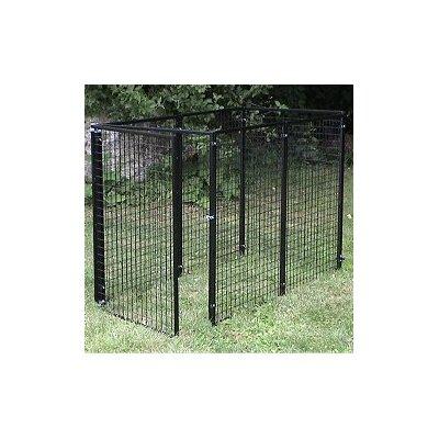 Options Plus Welded Wire Yard Kennel