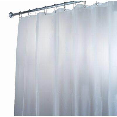InterDesign EVA Waterproof Frost Extra Long Chlorine Free Shower Curtain / Liner