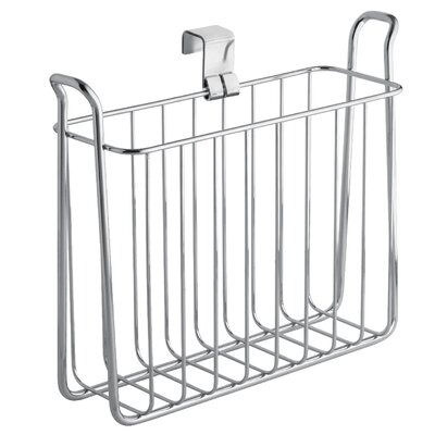 InterDesign Over The Tank Toilet Magazine Rack