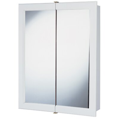 "Hardware House 24"" Aspen Medicine Cabinet in Snow White"