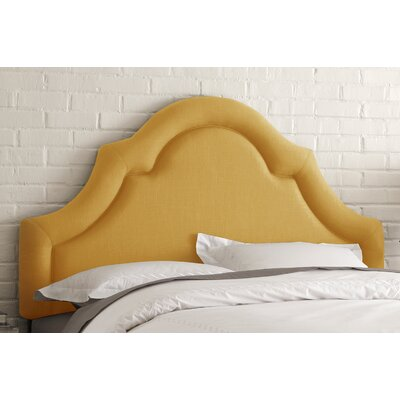 Skyline Furniture High Arch Linen Upholstered Headboard