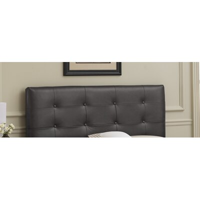 Tufted Faux Leather Headboard