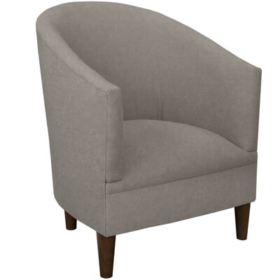 Linen Upholstered Arm Chair