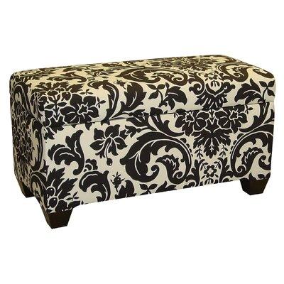 Skyline Furniture Cotton Storage Ottoman