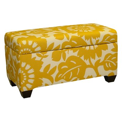 Skyline Furniture Gerber Cotton Storage Ottoman