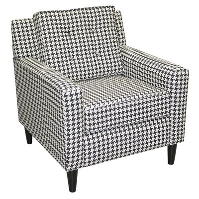 Cube Fabric Arm Chair