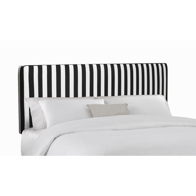 Skyline Furniture Striped Upholstered Headboard