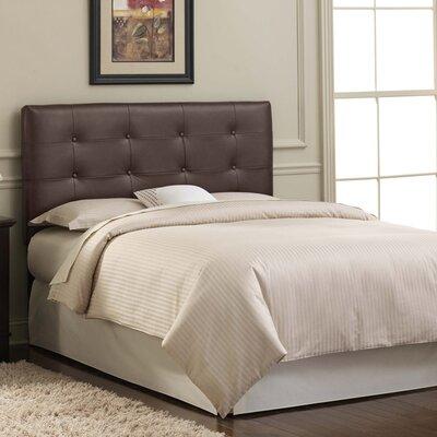 Skyline Furniture Tufted Leather Upholstered Headboard