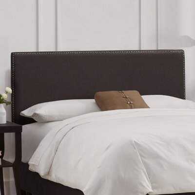 Skyline Furniture Nail Button Linen Headboard
