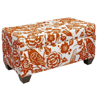 Skyline Furniture Canary Upholstered Storage Bench