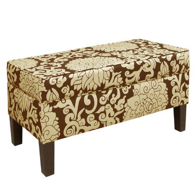 Skyline Furniture Athens Upholstered Storage Bench