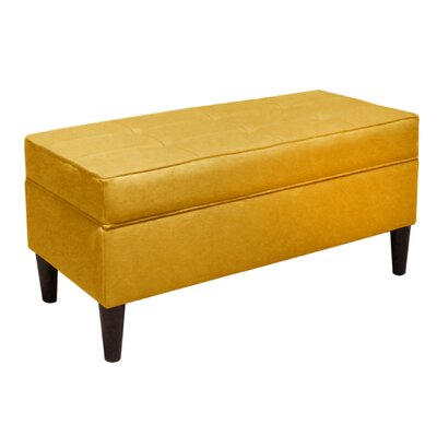 Skyline Furniture Linen Wood Storage Bench