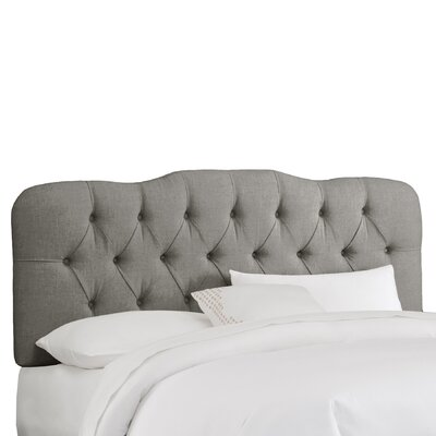 Skyline Furniture Tufted Linen Upholstered Headboard