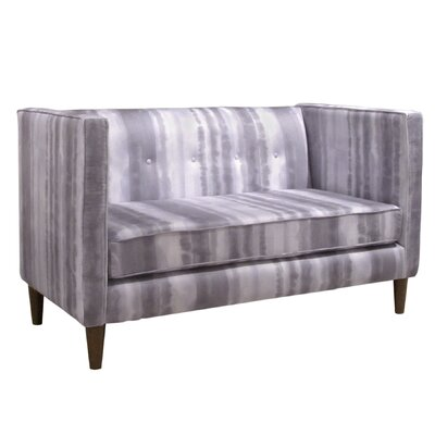 Skyline Furniture 5 Button Settee Loveseat